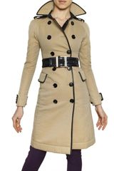 Burberry Prorsum Double Faced Gabardine Trench Coat - Lyst