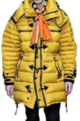 Burberry Prorsum Duffle Down Jacket - Lyst
