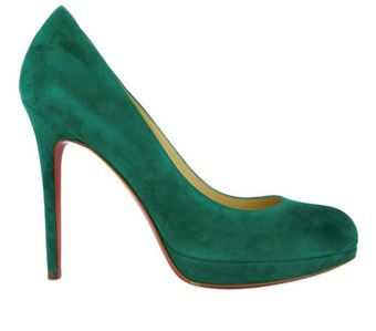 Christian Louboutin 120mm New Simple Pump Suede Pumps - Lyst