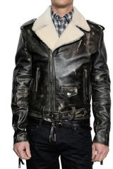 DSquared2 Horse Leather Biker Jacket - Lyst