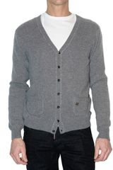DSquared2 Cashmere Knit Cardigan Sweater - Lyst