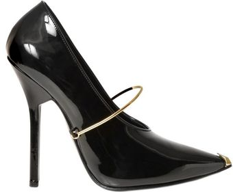 Givenchy 100 Mm Claw Metal Strap Patent Pumps - Lyst
