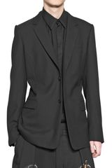 Givenchy Wool Gabardine Jacket - Lyst