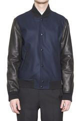 Givenchy Wool Cloth and Nappa Sport Jacket - Lyst