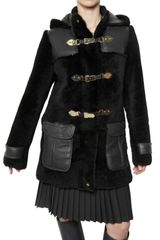 Mulberry Furry Sheepskin Fur Coat - Lyst