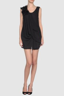 Vera Wang Short Dress - Lyst