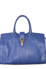 Yves Saint Laurent Cabas Chyc Supple Small Calf Top Handle