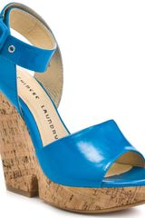 Chinese Laundry Go For It - Ocean Blue Patent - Lyst