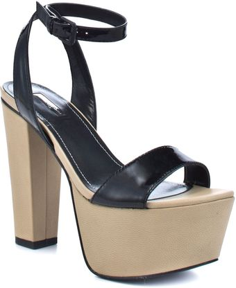 Report Signature Carle - Black Patent - Lyst
