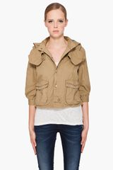 G-star Raw Officer Cropped Jacket - Lyst