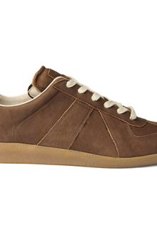 Maison Martin Margiela Lace Up Leather Sneakers - Lyst
