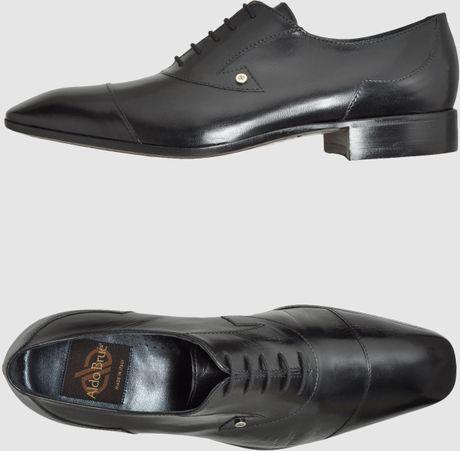 Aldo Brue Laced Shoes In Black For Men Lyst