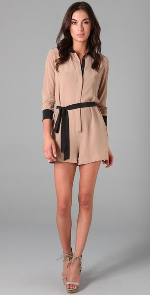 Equipment Earl Romper - Lyst