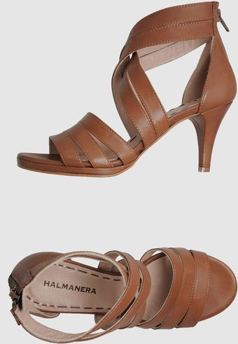 Halmanera High-heeled Sandals - Lyst