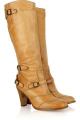 Belstaff Trialmaster Knee-high Leather Boots - Lyst