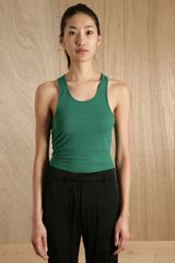 Haider Ackermann Womens Dean Green Top - Lyst