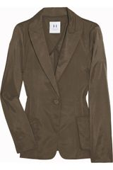 Halston Heritage Cotton-blend Satin Blazer - Lyst