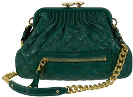 Marc Jacobs Little Stam in Green in Green - Lyst