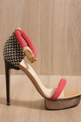 Nicholas Kirkwood Woven Heels in Multicolor (multicolour) - Lyst