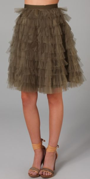RED Valentino Tutu Skirt - Lyst