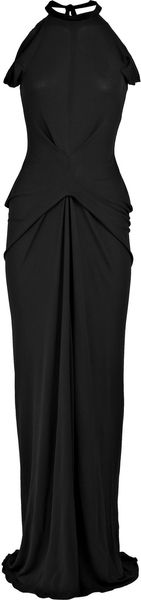 RM By Roland Mouret Open-back Jersey Maxi Dress - Lyst