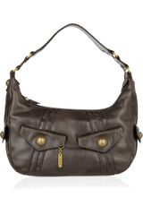 Sonia Rykiel Textured Leather Shoulder Bag - Lyst