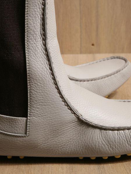 Balenciaga Mens Chelsea Boots In Gray For Men Grey Lyst