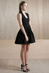 Preen Womens Harness Dress in Black - Lyst
