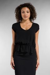 Rory Beca Ruth Drape Goddess Top - Lyst