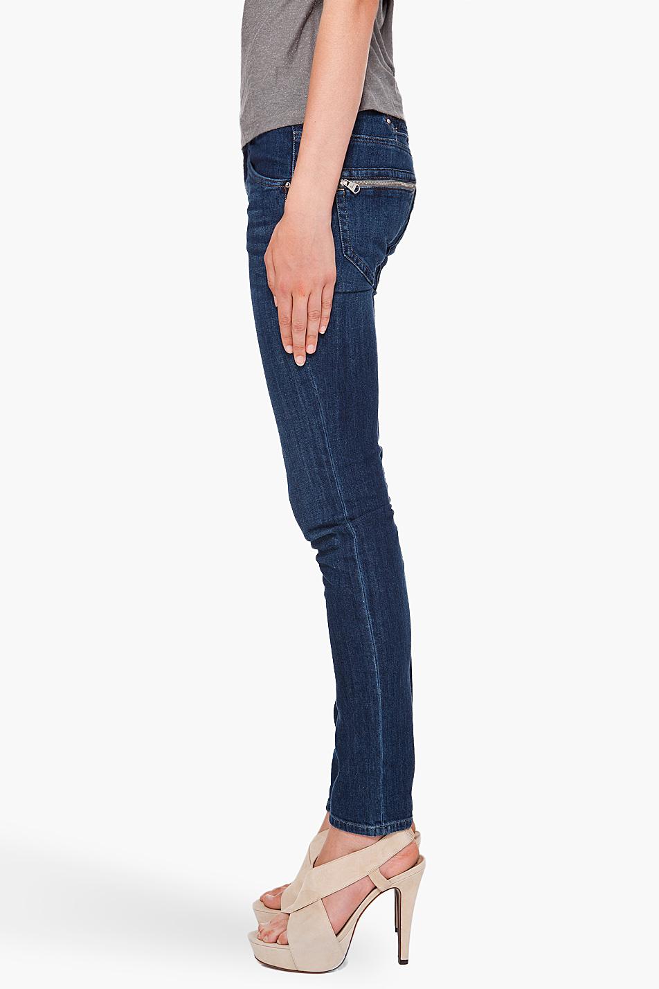 b0ff1290 DIESEL Clushy 67x Jeans in Blue - Lyst