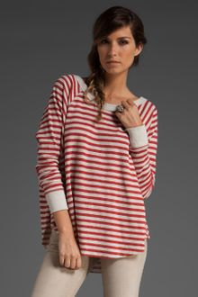 Free People Striped Love Bug Thermal - Lyst