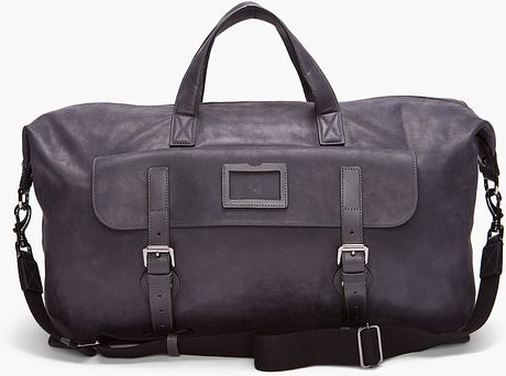 Mulberry Rockley Holdall in Gray for Men (gunmetal) - Lyst