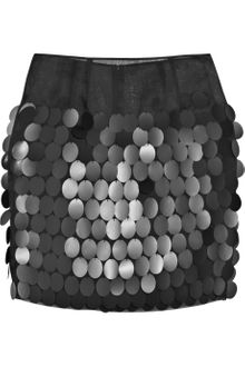 Stella McCartney Paillette Silk-organza Skirt - Lyst