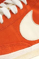 Nike Blazer Mid Premium Vintage Dark Cooper Sail in Orange for Men - Lyst