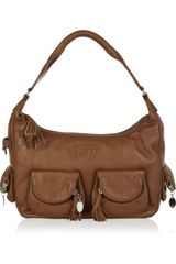Sonia Rykiel Multi-pocket Leather Shoulder Bag - Lyst