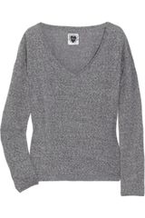 Zoe Tees Cotton-blend Knit Sweater - Lyst