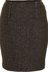 Isabel Marant Tweed Pencil Skirt - Lyst