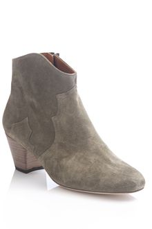 Isabel Marant Curved Top Ankle Boots - Lyst