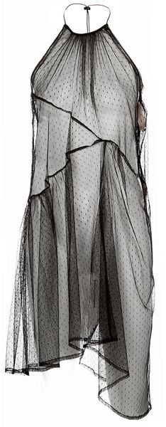 Preen Line Sheer Halterneck Dress - Lyst