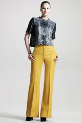 The Row High-waist Scuba Pants - Lyst