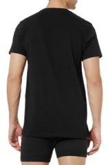 Calvin Klein Three Crew Neck TShirts in Black for Men - Lyst