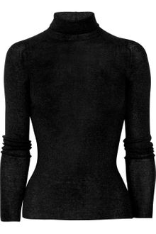 Gucci Fine-Knit Wool Turtleneck Sweater - Lyst