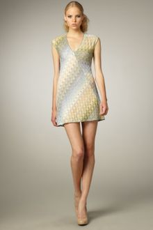 Missoni Sybil Cap-sleeve Dress - Lyst