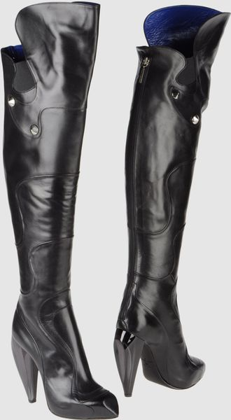 Raphael Young High-heeled Boots - Lyst