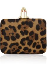 Christian Louboutin Dancing Queen Calf-hair Box Clutch - Lyst