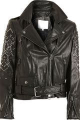 3.1 Phillip Lim Beaded Sleeve Jacket - Lyst