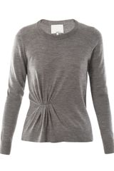 3.1 Phillip Lim Asymmetrical Sweater - Lyst