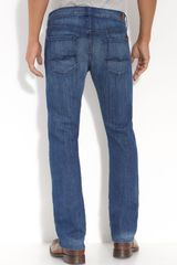 7 For All Mankind Standard Fit Straight Leg Jeans (paso Robles 2 Wash) - Lyst