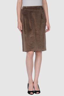 Roberta Scarpa Knee Length Skirt - Lyst