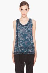 3.1 Phillip Lim Layered Ring Sequin Top - Lyst